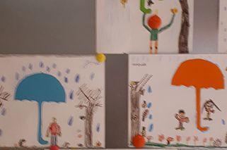 tekenen over de herfst